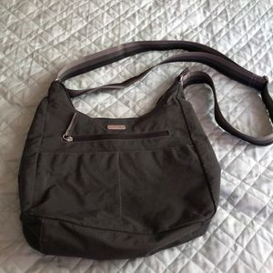 EUC Gray bagaallini crossbody bag